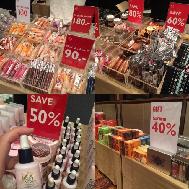 "The Body Shop ""The Biggest Warehouse Sale"" 3"