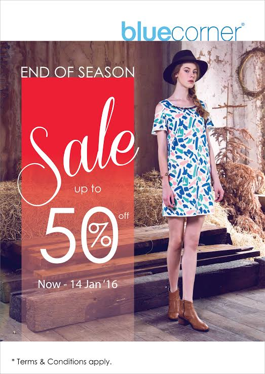 Blue Corner End of Season Sale