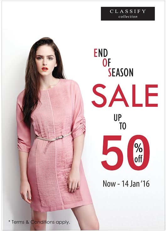 Classify End Of Season SALE