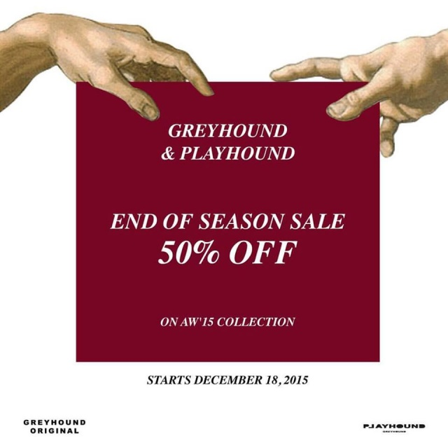 Greyhound & Playhound END OF SEASON SALE