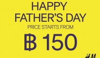 H&M Happy Father's day Promotion