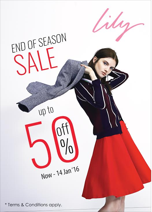 Lily End of Season sale