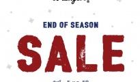 Wrangler End of Season Sale
