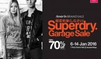 """Amarin Brand Sale """"Superdry Garage Sale"""