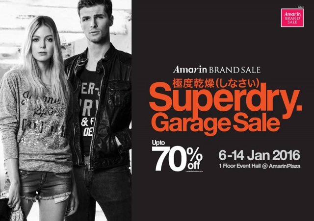 "Amarin Brand Sale ""Superdry Garage Sale"