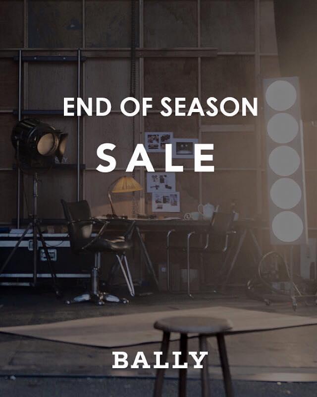 BALLY End of Season Sale