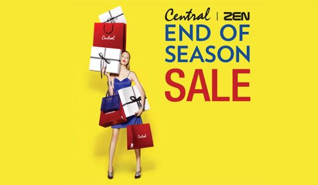 Central – ZEN END of Season Sale