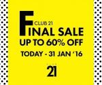 Club 21 Final Sale 1
