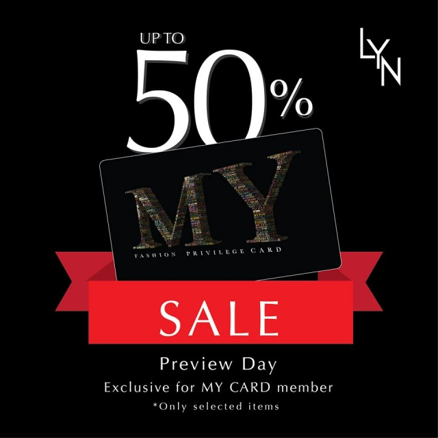 LYN END OF SEASON SALE