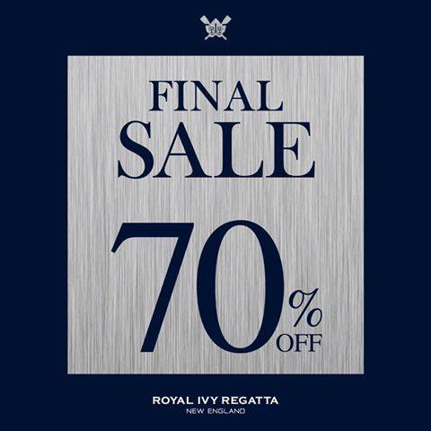Royal Ivy Regatta End of Season Sale