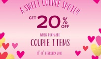 ACCESSORIZE A Sweet Couple Spoil