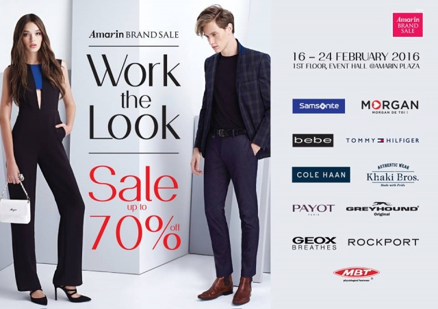 "Amarin Brand Sale ""Work The Look"""
