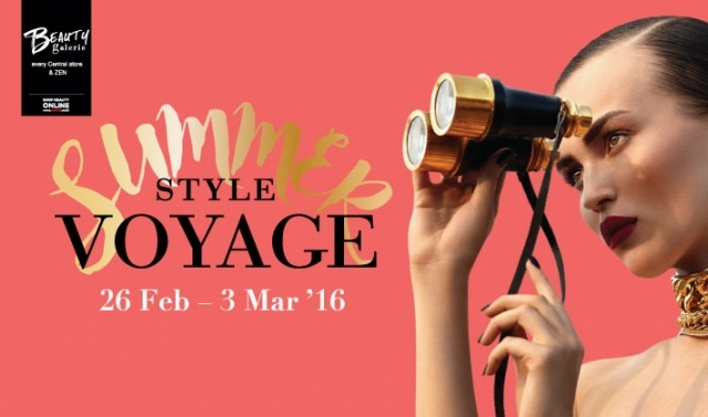 Beauty Galerie presents 'Summer Style Voyage'