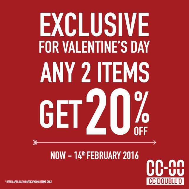 CC Double O EXCLUSIVE FOR VALENTINE'S DAY