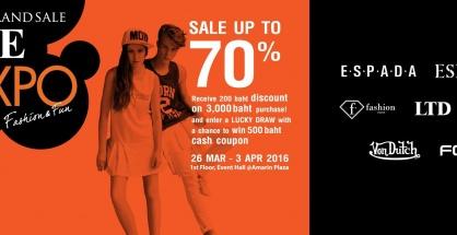 "Amarin Brand Sale ""LME EXPO"""