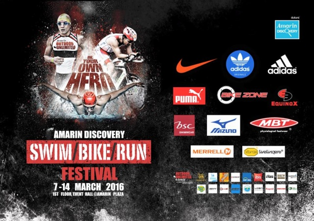 "Amarin Discovery ""Swim Bike Run Festival"""