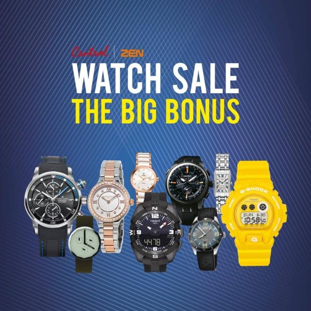 Central  Zen Watch Sale The Big Bonus