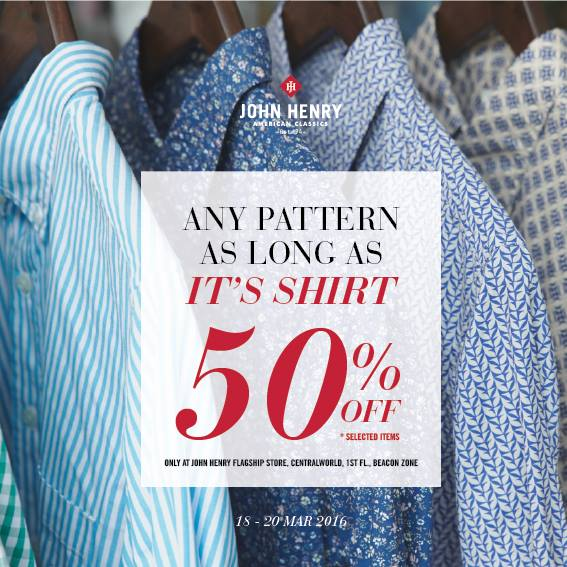 JOHN HENRY Short & Long Sleeve Shirts