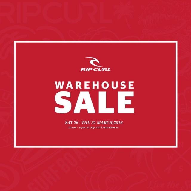 RipCurl Warehouse Sale