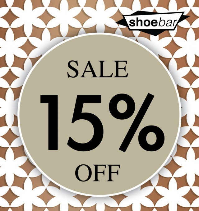 SHOE BAR SALE
