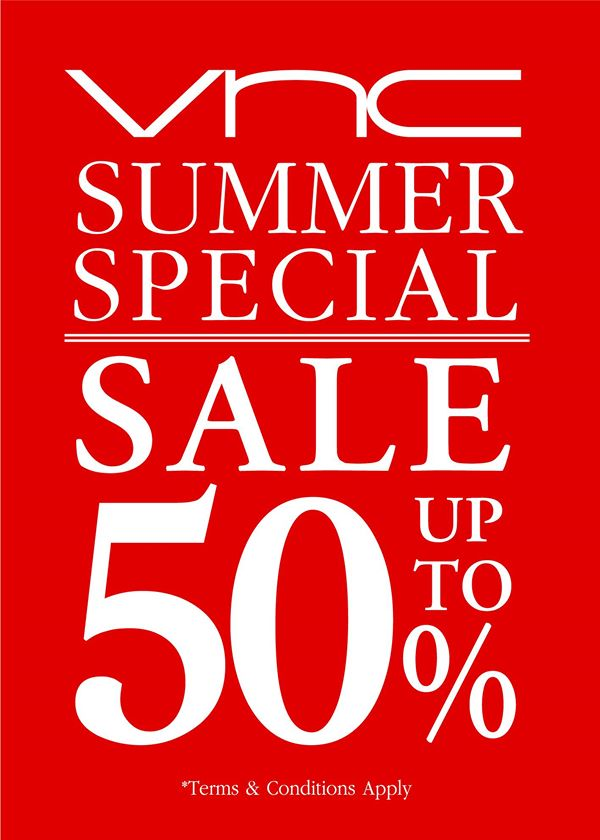 VNC Summer Special Sale