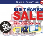 ISETAN Big Thanks Sale 1