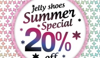 Jelly Shoes Summer Special