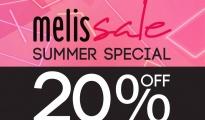 MELISSA Summer Special Sale