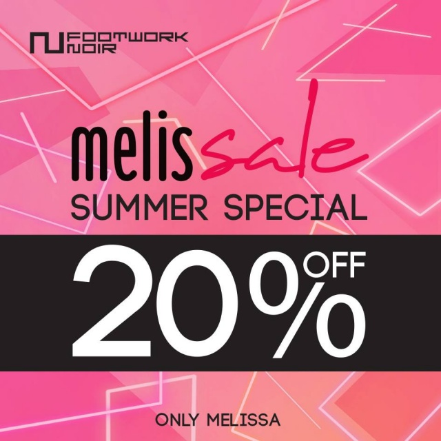 MELISSA Summer Special Sale