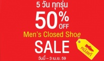 Scholl Men's closed shoe