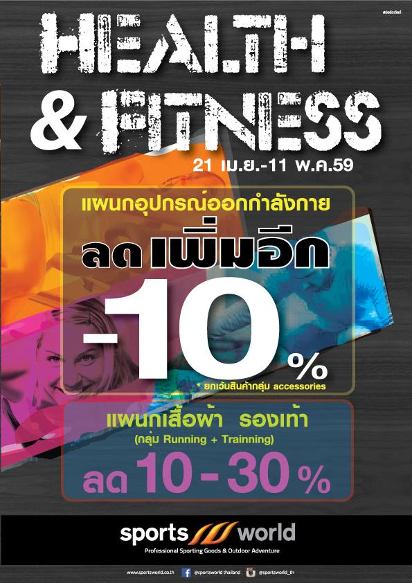 Sports World Health & Fitness 1