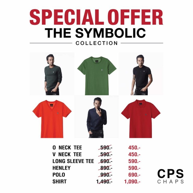 "CPS CHAPS Special offer ""The Symbolic Collection"""