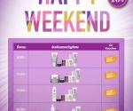 "Kiehl's ""Happy Weekend"""