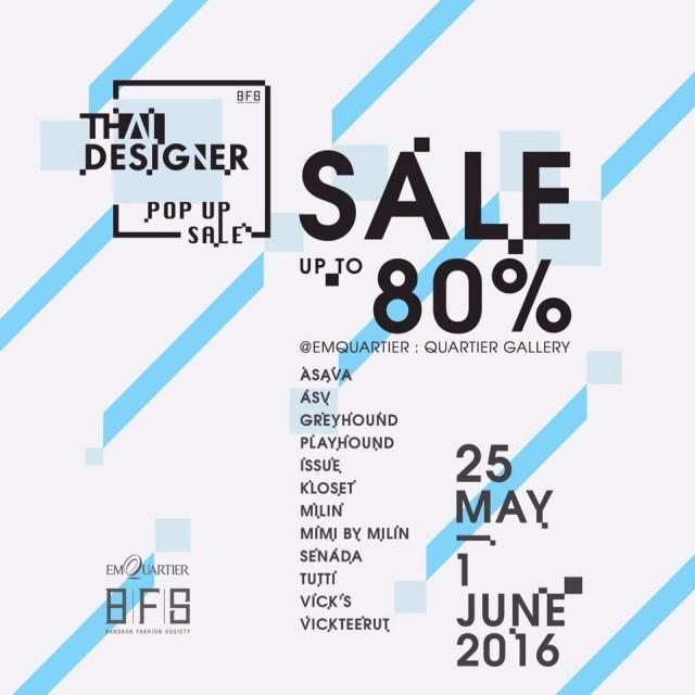 Thai Designer Pop-up Sale