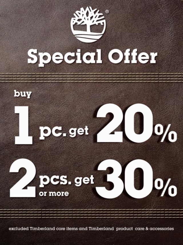 Timberland Special Offer