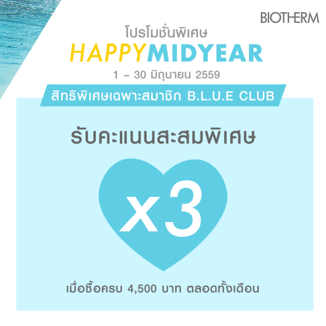 Biotherm Happy Mid Year 2016 4