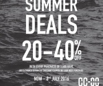CC DOUBLE O SUMMER DEALS