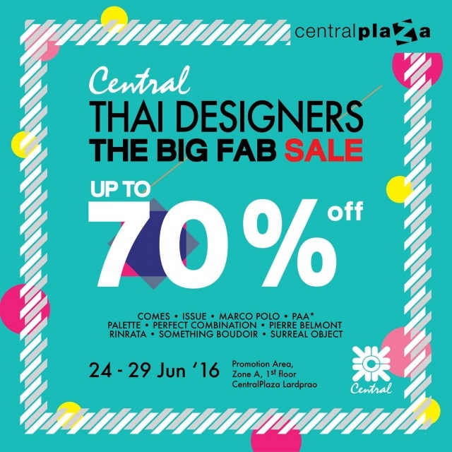 "Central Thai Designers ""The Big Fab Sale"""