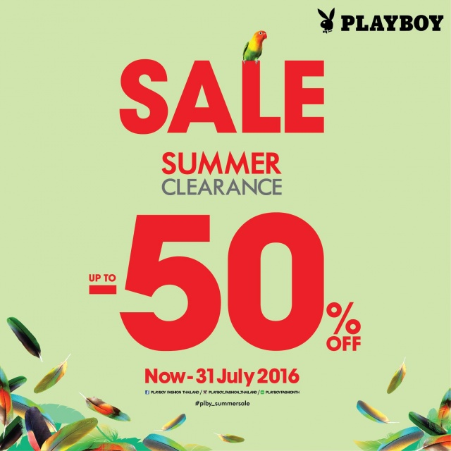 PLAYBOY Summer Clearance