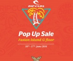 Rip Curl Pop up Sale