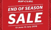 Rip Curl end of season sale