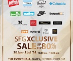 SFG Xclusive Sale