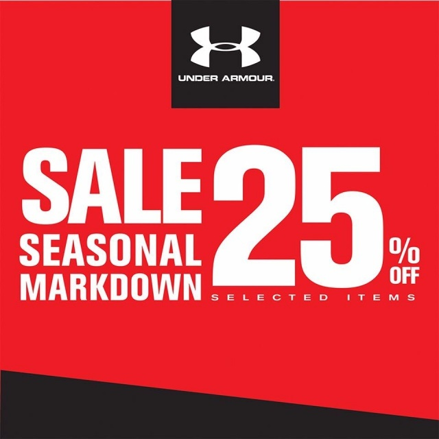 Under Armour SALE Seasonal Markdown