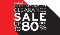 CENTRAL HOTTEST FASHION CLEARANCE SALE