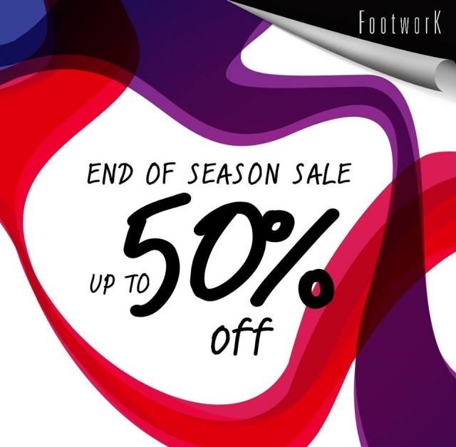Footwork End of Season Sale