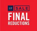 GAP FINAL REDUCTIONS SALE