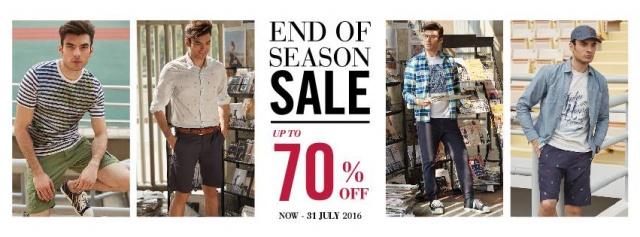 JOHN HENRY End of Season Sale
