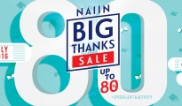 Naiin Big Thanks Sale 201