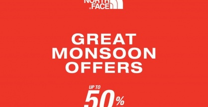 "The North Face ""Great Monsoon Offers"