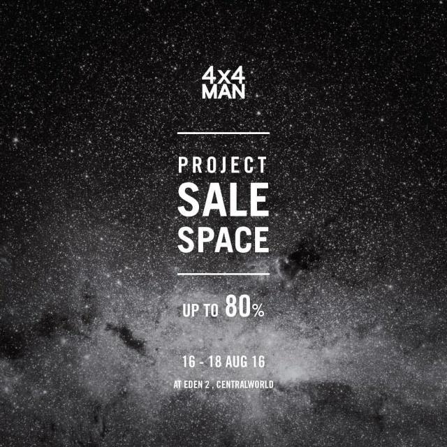 4X4 MAN SALE SPACE